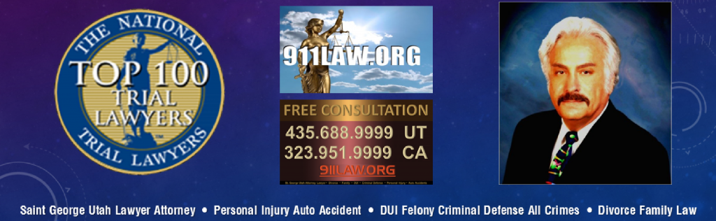 St GeorgeUtah criminal defense DUI lawyer personal injury auto accident attorney